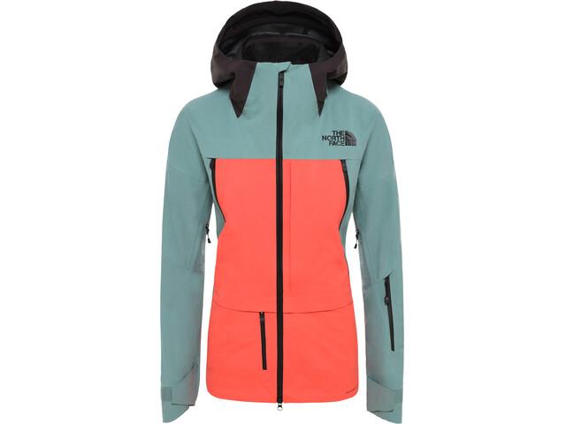 The North Face Herren A-CAD FUTURELIGHT Takki Naiset, trellis green/radiant orange/weathered black